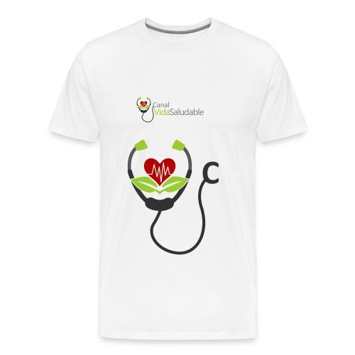CANAL VIDA SALUDABLE: Camiseta Premium Para Hombres - Men's Premium T-Shirt