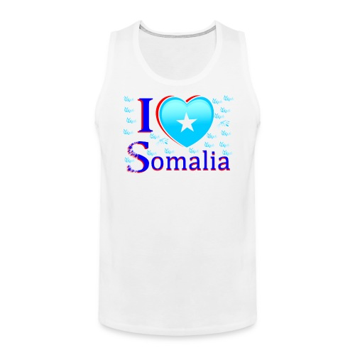 ilove somalia 6 - Men's Premium Tank