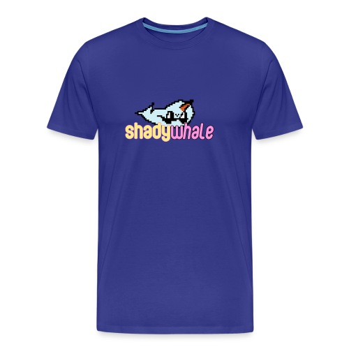Shady Whale Shirt - Men's Premium T-Shirt