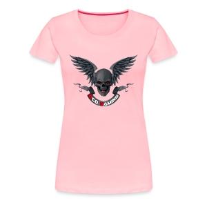 eco skull womens - Women's Premium T-Shirt