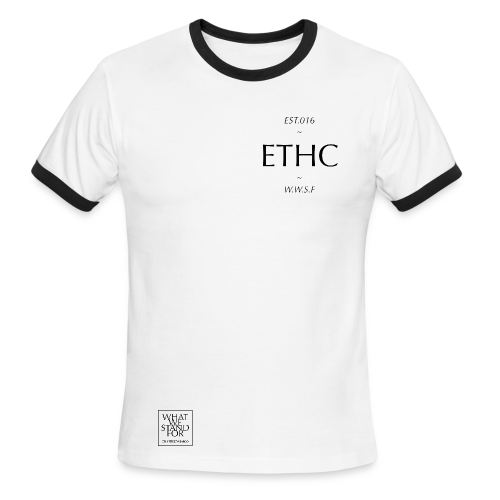 ethc men's authentic ringer short sleeve - Men's Ringer T-Shirt