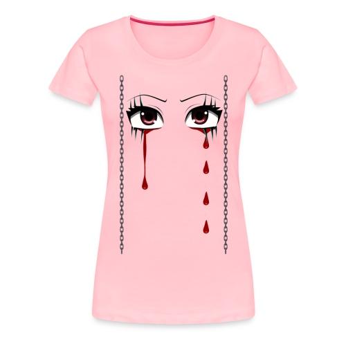 bleed eyes womens - Women's Premium T-Shirt