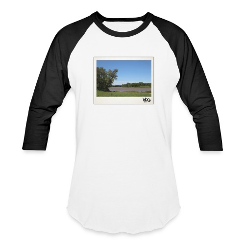 Red - Winnipeg Collection - Unisex Baseball Tee - Baseball T-Shirt