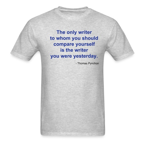The only writer... (men's) - Men's T-Shirt