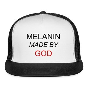 Melanin Made By God - Cap - Trucker Cap