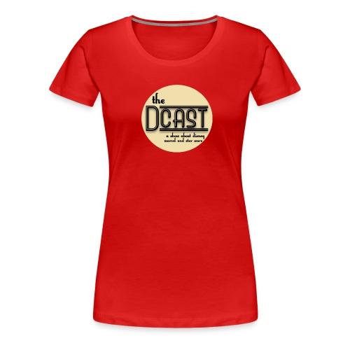 Womens New Dcast Logo Tee - Women's Premium T-Shirt