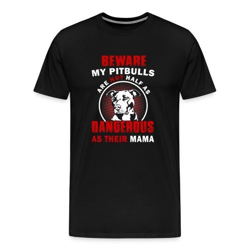 pitbull tshirt T-Shirts - Men's Premium T-Shirt
