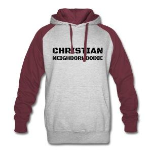 Christian Neighborhoodie: Iron Soldier - Colorblock Hoodie