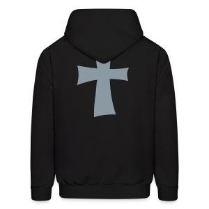 Christian Neighborhoodie: Black Mist - Men's Hoodie