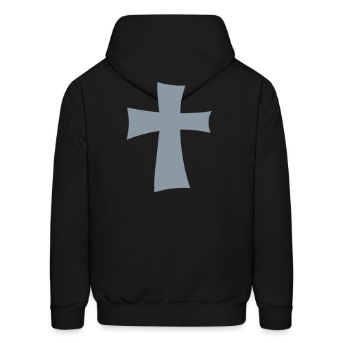 Christian Neighborhoodie: Black Mist - Men's Hoodie