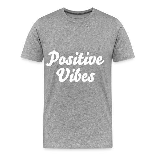 'Positive Vibes' Premium Tee - Men's Premium T-Shirt