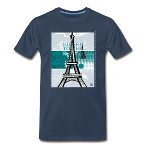 Eiffel Tower - Men's Premium T-Shirt