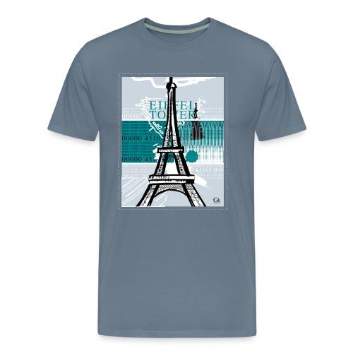 Eiffel Tower - Men's Premium T-Shirt