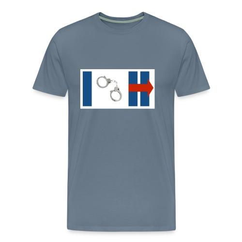 MOST POPULAR: I (Arrest) Hillary Clinton - Men's Premium T-Shirt