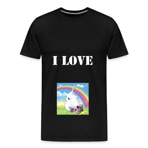 I LOVE PONY'S SHIRT - Men's Premium T-Shirt
