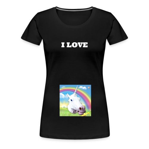 I LOVE PONY'S SHIRT VROUWEN - Women's Premium T-Shirt