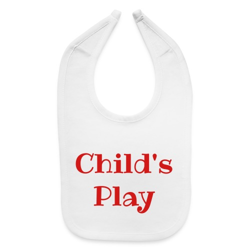 Child's Paly - Baby Bib