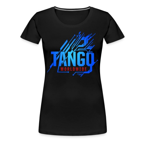 Blue Tech - Women's Premium T-Shirt