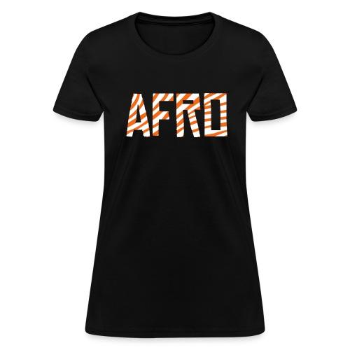 Afro Woman's  - Women's T-Shirt