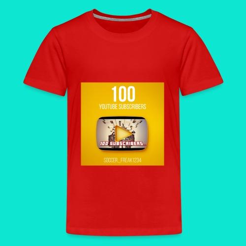 100 Subscribers T-Shirt - Kids' Premium T-Shirt