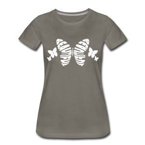 Beautiful Butterfly Premium T-Shirt - Women - Women's Premium T-Shirt