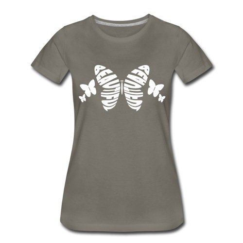 Beautiful Butterfly Premium T-Shirt - Women - Women's Premium T-Shirt