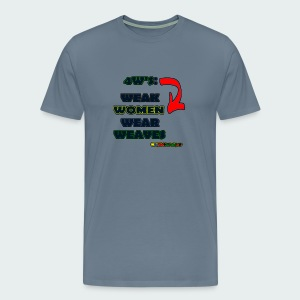 Up to 5XL- 4W's - Men's Premium T-Shirt