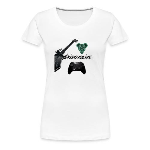RidgyOlive tee - Women's Premium T-Shirt
