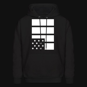 Flag #Black Lives Matter - Men's Hoodie