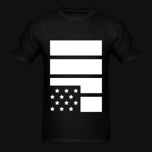 Flag #Black Lives Matter - Men's T-Shirt