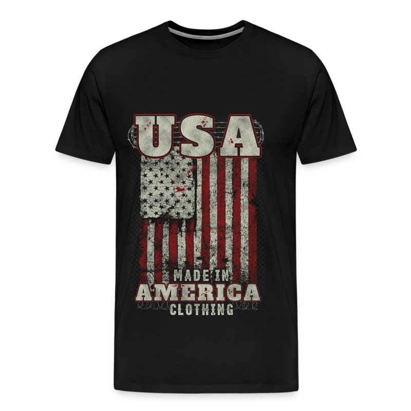 american apparel made in america clothing t shirt