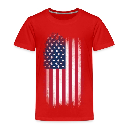 U.S Flag  - Toddler Premium T-Shirt