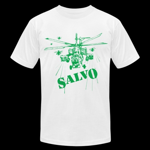 Havoc Helicopter - Men's Fine Jersey T-Shirt