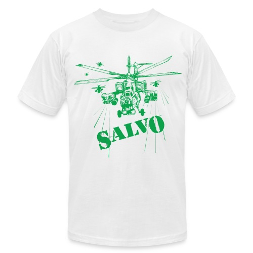 Salvo Havoc Helicopter - Men's Fine Jersey T-Shirt