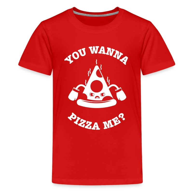 Pizza Me?? (kids) - Kids' Premium T-Shirt
