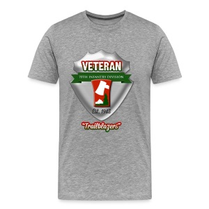 Veteran 70th Infantry Division - Men's Premium T-Shirt