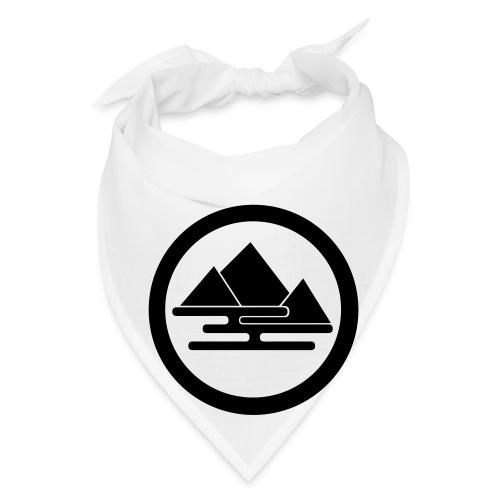 Hidden Mountain Bandana White - Bandana