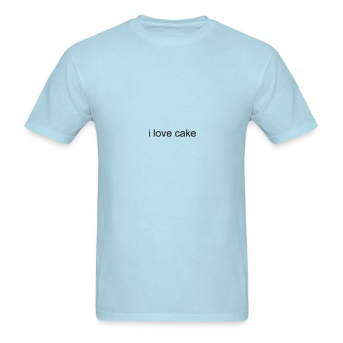 I Love Cake T-Shirt - Men's T-Shirt