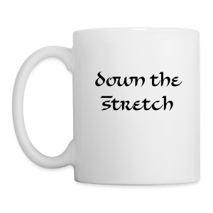 Down the Stretch coffee mug - Coffee/Tea Mug