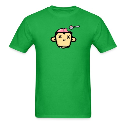 Monkey Brains Men's Tee - Men's T-Shirt
