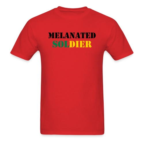 Melinated Soldier Mens Cut - Men's T-Shirt