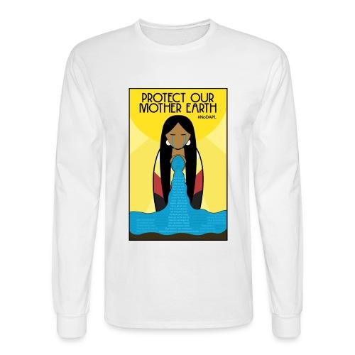 Water is Life #NoDAPL (Mens) - Men's Long Sleeve T-Shirt