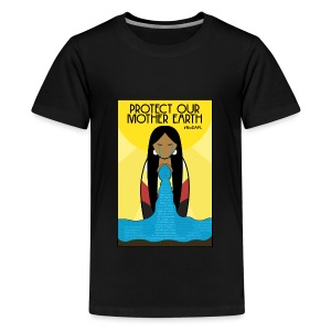 Water is Life #NoDAPL (Kids) - Kids' Premium T-Shirt