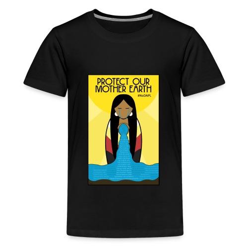 Water is Life #NoDAPL (Kids) - Kids' Premium T-Shirt