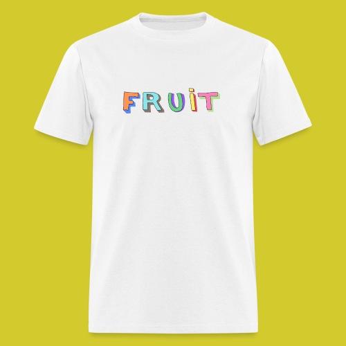 3D FRUIT (White) - Men's T-Shirt