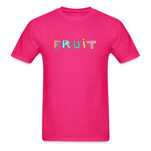 3D FRUIT (Pink) - Men's T-Shirt