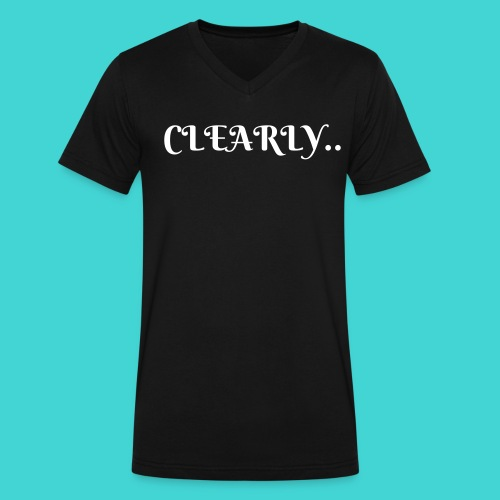 CLEARLY - Men's V-Neck T-Shirt by Canvas