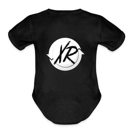 xenRotations toddler thing - Organic Short Sleeve Baby Bodysuit