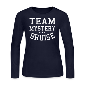 Team Mystery Bruise - Women's Long Sleeve - Women's Long Sleeve Jersey T-Shirt