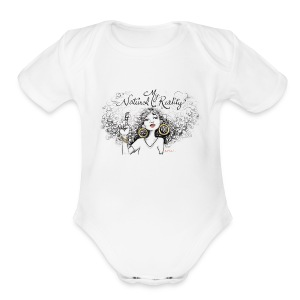My Natural Reality onesie - Short Sleeve Baby Bodysuit
